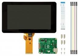 Offizielles Raspberry Pi Display mit 10 Punkt Multitouch für Raspberry Pi