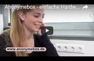 Wie kann ich die anonymebox verwenden?
