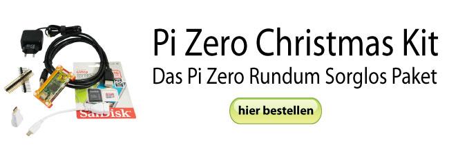 Pi Zero Christmas Kit Rundum Sorglos Paket