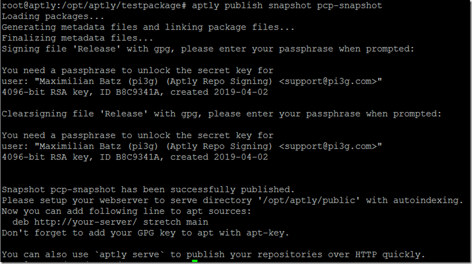 Creating a Raspbian repository - pi3g com