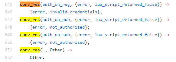 Debugging VerneMQ connection / authentication problems for