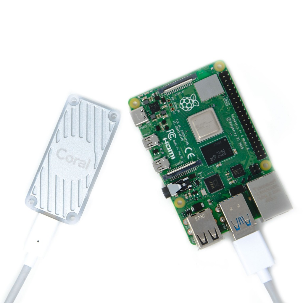 Google Coral USB Accelerator with a Pi 4 / 8 GB